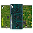 HEAD CASE DESIGNS CIRCUIT BOARDS SOFT GEL CASE FOR SONY PHONES 2