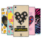 HEAD CASE DESIGNS HEART PATCHES SOFT GEL CASE FOR SONY PHONES 2