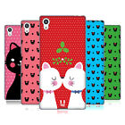 HEAD CASE DESIGNS CHRISTMAS CATS SOFT GEL CASE FOR SONY PHONES 2