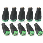 Lot ZH34 2.1x 5.5mm DC Power Female Plug Jack Adapter Connector For CCTV Led DVR