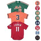 MLB Mitchell & Ness Authentic Batting Practice Throwback Jersey Collection Men's on Ebay