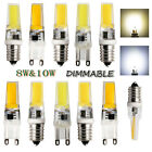 AC 220V Dimmable 8W 10W  E14 G9 Silicone Crystal Led Lights Bulb SMD White Lamps