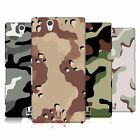 HEAD CASE DESIGNS MILITARY CAMO HARD BACK CASE FOR SONY PHONES 3