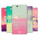HEAD CASE DESIGNS DREAMY SUMMERTIME HARD BACK CASE FOR SONY PHONES 3