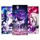 HEAD CASE DESIGNS ENCHANTED UNICORNS HARD BACK CASE FOR SONY PHONES 3