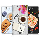 HEAD CASE DESIGNS FLAT LAYS HARD BACK CASE FOR SONY PHONES 3