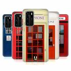 HEAD CASE DESIGNS TELEPHONE BOX SOFT GEL CASE FOR HUAWEI PHONES