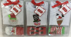 Mud Pie Baby NORTH POLE BOXED SET 130244 Reindeer Santa Snowman Christmas New