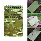 1pc Camouflage Color Notebook Diary Note Pad Mini Memo Stationery Office Outdoor