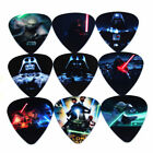 SOACH 10pcs 1.00mm Kinds Of Pattern Printing Guitar Picks Musical Accessories