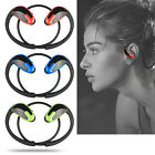 Sweatproof Wireless Bluetooth Headset Stereo Headphone Sport Running Earphone US