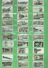 #T84. .  SET(50) 1915 MILITARY WWI MODERN WAR WEAPONS CIGARETTE CARDS