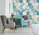 3D Flowers Leaf Painted 0199 WallPaper Murals Wall Decal WallPaper AU Carly