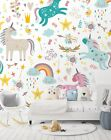 3D Color Unicorn Paint 126 WallPaper Murals Wall Decal WallPaper AU Carly