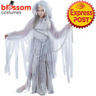 CK1151 Girls Haunted Beauty Costume Ghost Bride Horror Zombie Halloween Outfit
