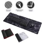 Non-Slip XXL 31.5  x 12  Marble Mouse Pad Keyboard Gaming Computer PC Desk Mat