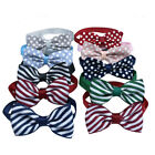 Wholesale Pet Dog Cat Boys Bow Ties Adjustable Dog Cloth Bowties Dog Accessories