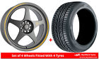 Alloy Wheels & Tyres 7.5x17 7Twenty Style21 Grey Matt + 2055017 Tyres