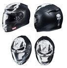 HJC Adult CL-17 Full Face Motorcycle Helmet Punisher 2 MC5SF XS-3XL
