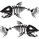 %282x%29+12%22+Angry+Muskie+Skeleton+Fishing+Muskellunge+Bass+Tackle+Boats+Vinyl+Decal