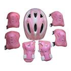 7pcs Kids Bike Sports Protective Gear - Helmet Elbow Knee Pads Wrist Guards