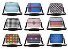 17 Inch Neoprene Matching Pattern Laptop Sleeve Bag with Hidden Handle & Strap