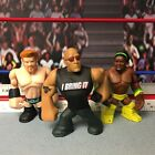 WWE Wrestling Mattel Lot 3 Rumbler Rumblers Figures Sheamus The Rock Kofi Kingst