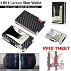 Kyпить Carbon Fibre ID Wallet Money Clip and Credit Card Holder Slim Small Compact RFID на еВаy.соm