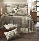 SAWYER MILL CHARCOAL QUILT -choose size & accessories-farmhouse bedding VHC image