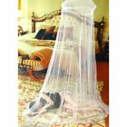 US Mosquito Netting Mesh Elegant Lace Bed Canopy Princess Round Dome Bedding Net image