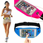 Waterproof Sports Waist Belt Bag Pack Running Camping For iPhone X 8 7 6s 6 Plus