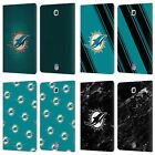 OFFICIAL NFL 2017/18 MIAMI DOLPHINS LEATHER BOOK CASE FOR SAMSUNG GALAXY TABLETS $32.79 USD on eBay
