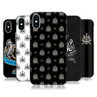 NEWCASTLE UNITED FC 2017/18 CREST PATTERNS BLACK GEL CASE FOR APPLE iPHONE PHONE