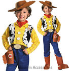 CK699 Deluxe Toy Story Cowboy Woody Fancy Dress Up Child Boys Book Week Costume