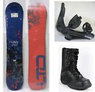 "NEW LTD ""TRACER"" SNOWBOARD, BINDINGS, BOOTS PACKAGE - 132cm"