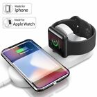 2 in 1 Fast Wireless Phone Watch Charger Dock for Apple iWatch iPhone X 8 Plus
