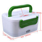 Portable Car Plug Electric Heating Lunch Box Meal Heater Dinner Food Container