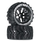 "Duratrax Hatchet MT 2.8"" 2 Wheel Drive Mounted Front Tires Black (2) DTXC3524"