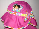 Estat=V  Toddler Summer Hat,Pin, with Multi Colored Trim-Dora by Nichelodeon Wow