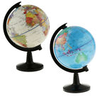 Внешний вид - World Globe for Home Desk Decoration Geography Educational Toys 16cm Height
