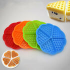 Cute Silicone DIY Waffle Tray Pan Microwave Cake Baking Mould Mold Bakeware