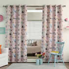 Best Home Fashion, Inc. Alphabet Printed Room Darkening Thermal Curtain Panels