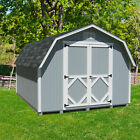 Little Cottage Company Classic Gambrel Solid + Manufactured Wood Storage Shed
