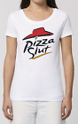 Pizza Slut T-Shirt Mens Ladies Funny Spoof Slogan Parody Womens Hipster Top Gift