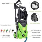Heavy Duty 3000PSI Electric High Pressure Cold Washer Power 1.8GPM Jet Sprayer
