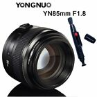 Yongnuo YN 35mm 50mm 85mm 100mm 50mm II AF MF Prime Fixed Lens for Canon EOS US
