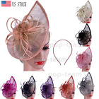 Внешний вид - Vintage Fascinators 1920s Hat Pillbox Hat Cocktail Tea Party Headwear Costumes