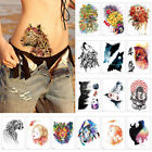 Cool Waterproof Temporary Tattoo Stickers Beauty Arm Wolf Tiger Body Art Sticker