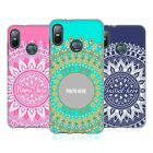 CUSTOM CUSTOMISED PERSONALISED MANDALA SOFT GEL CASE FOR HTC PHONES 1