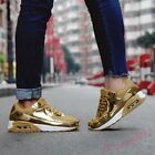 Unisex Men's Fashion Shining Sneakers Sports Shoes Trainer Runnimg Athletic  NEW